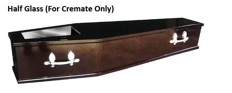 apricot-funeral casket