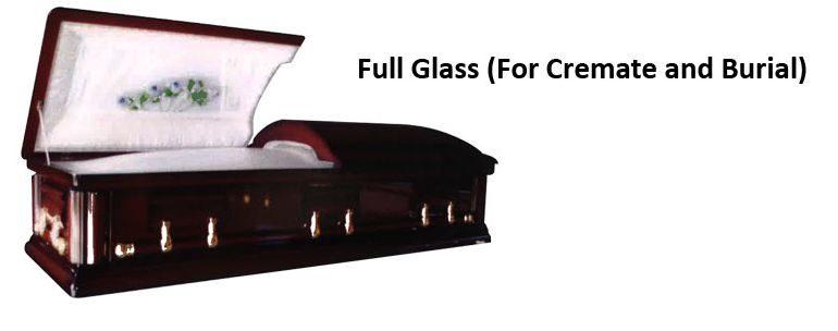 daisy-funeral casket