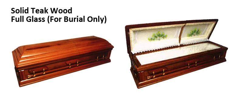 geranium-package casket